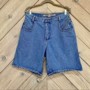 Vintage Zena High Waisted Denim Shorts